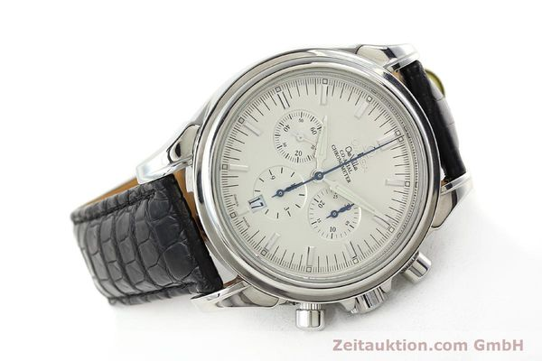 Used luxury watch Omega De Ville chronograph steel automatic Kal. 3313B Ref. 48413132  | 142039 03