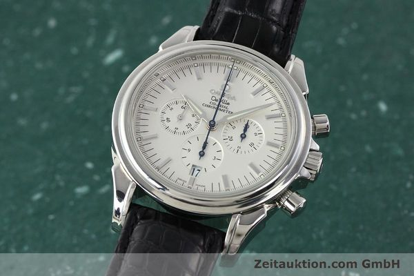 Used luxury watch Omega De Ville chronograph steel automatic Kal. 3313B Ref. 48413132  | 142039 04