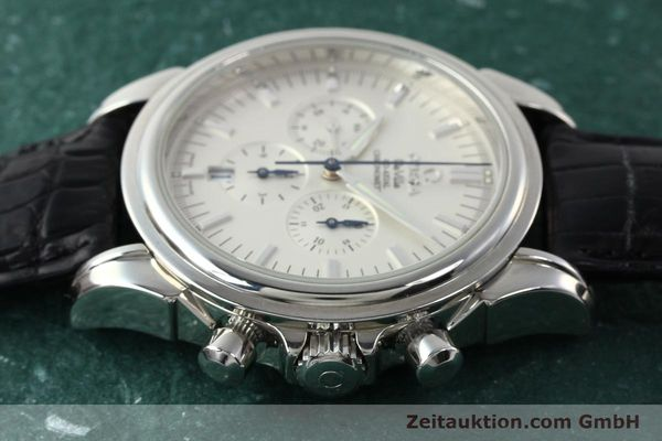 Used luxury watch Omega De Ville chronograph steel automatic Kal. 3313B Ref. 48413132  | 142039 05