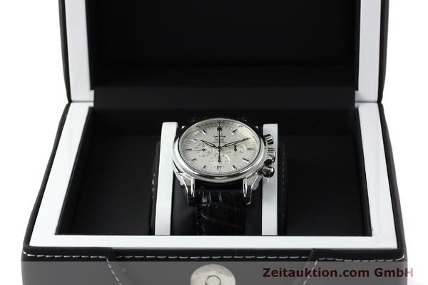 Used luxury watch Omega De Ville chronograph steel automatic Kal. 3313B Ref. 48413132  | 142039 07