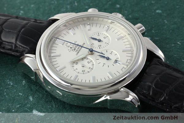 Used luxury watch Omega De Ville chronograph steel automatic Kal. 3313B Ref. 48413132  | 142039 16