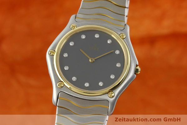Used luxury watch Ebel Classic Wave steel / gold quartz Kal. 81 Ref. 181909  | 142041 04