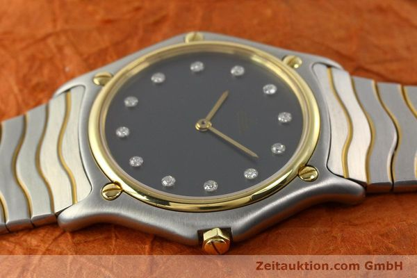 Used luxury watch Ebel Classic Wave steel / gold quartz Kal. 81 Ref. 181909  | 142041 05