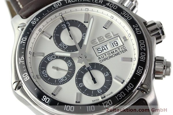 Used luxury watch Ebel 1911 chronograph steel automatic Kal. ETA 7750 Ref. E9750L62  | 142043 02