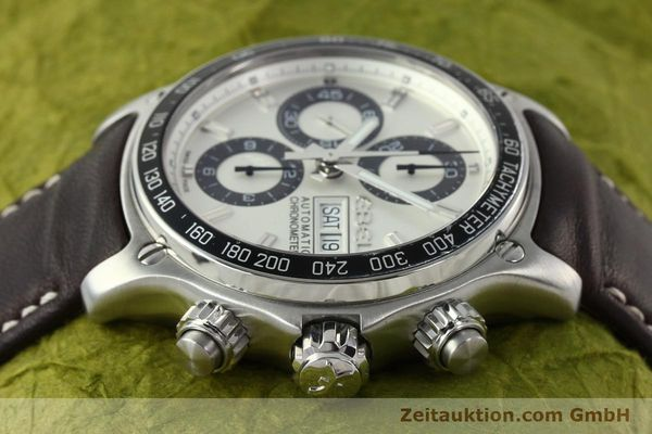 Used luxury watch Ebel 1911 chronograph steel automatic Kal. ETA 7750 Ref. E9750L62  | 142043 05