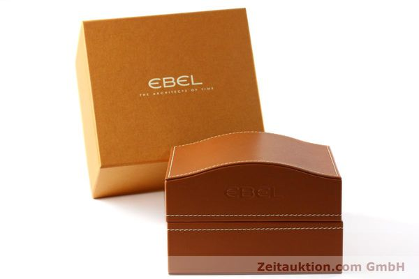 Used luxury watch Ebel 1911 chronograph steel automatic Kal. ETA 7750 Ref. E9750L62  | 142043 06