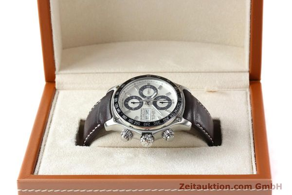 Used luxury watch Ebel 1911 chronograph steel automatic Kal. ETA 7750 Ref. E9750L62  | 142043 07
