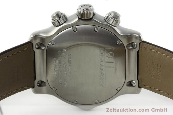 Used luxury watch Ebel 1911 chronograph steel automatic Kal. ETA 7750 Ref. E9750L62  | 142043 09