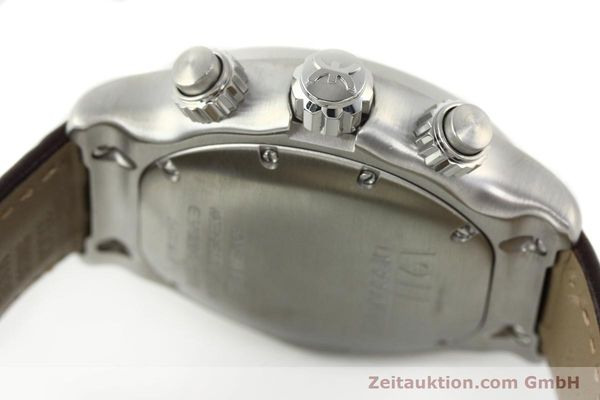 Used luxury watch Ebel 1911 chronograph steel automatic Kal. ETA 7750 Ref. E9750L62  | 142043 11