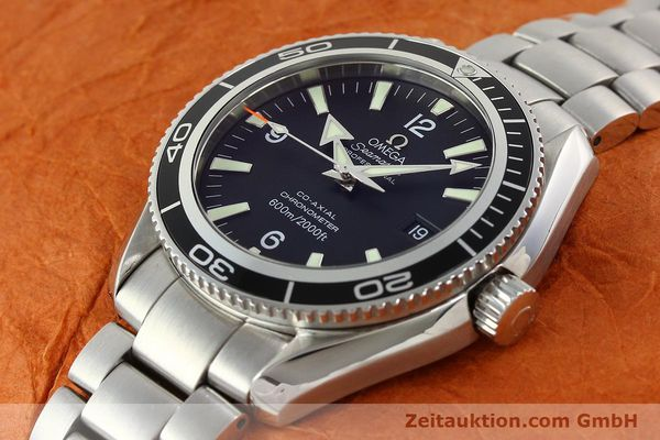 Used luxury watch Omega Seamaster steel automatic Kal. 2500C Ref. 29015037  | 142044 01