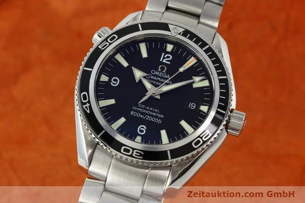 Used luxury watch Omega Seamaster steel automatic Kal. 2500C Ref. 29015037  | 142044 04