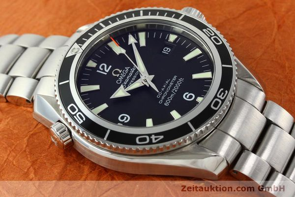 Used luxury watch Omega Seamaster steel automatic Kal. 2500C Ref. 29015037  | 142044 18