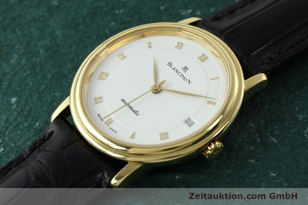 montre de luxe d occasion Blancpain Villeret or 18 ct automatique Kal. 1195  | 142045 01