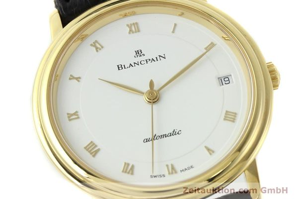 montre de luxe d occasion Blancpain Villeret or 18 ct automatique Kal. 1195  | 142045 02