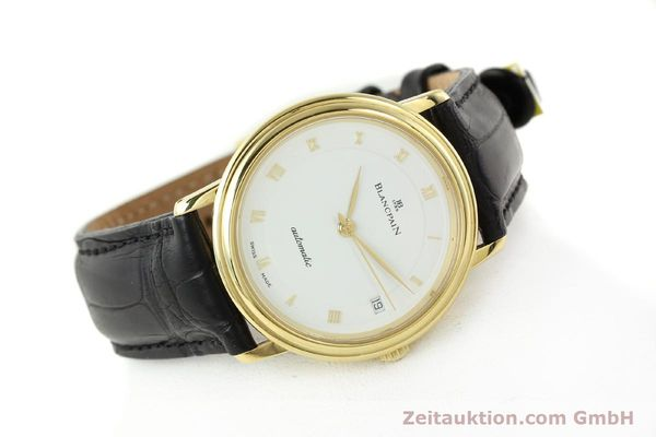 montre de luxe d occasion Blancpain Villeret or 18 ct automatique Kal. 1195  | 142045 03