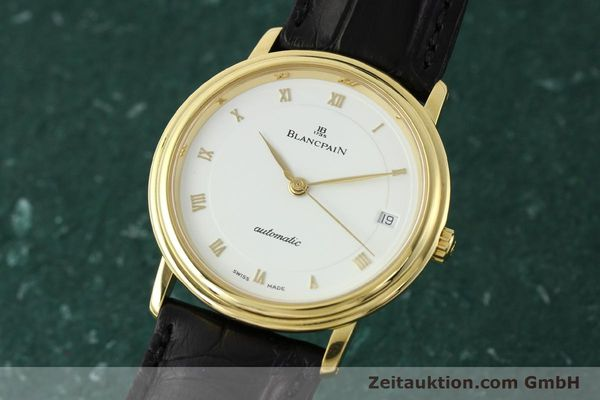montre de luxe d occasion Blancpain Villeret or 18 ct automatique Kal. 1195  | 142045 04