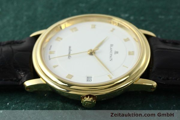 montre de luxe d occasion Blancpain Villeret or 18 ct automatique Kal. 1195  | 142045 05
