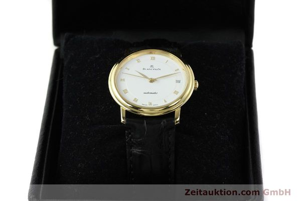 montre de luxe d occasion Blancpain Villeret or 18 ct automatique Kal. 1195  | 142045 07