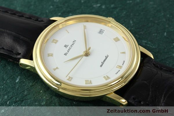 montre de luxe d occasion Blancpain Villeret or 18 ct automatique Kal. 1195  | 142045 15