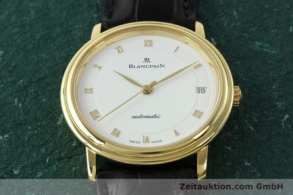 montre de luxe d occasion Blancpain Villeret or 18 ct automatique Kal. 1195  | 142045 16