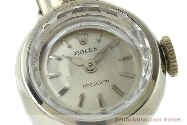 Used luxury watch Rolex Precision 8 ct gold manual winding Kal. 1401  | 142047 02