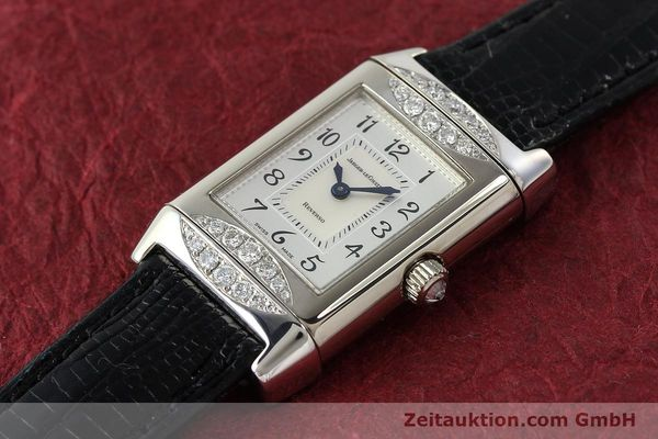 Used luxury watch Jaeger Le Coultre Reverso 18 ct white gold manual winding Kal. 488  | 142048 01