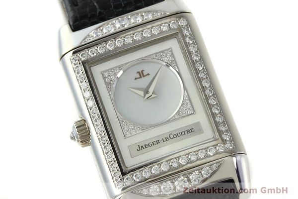 Used luxury watch Jaeger Le Coultre Reverso 18 ct white gold manual winding Kal. 488  | 142048 02