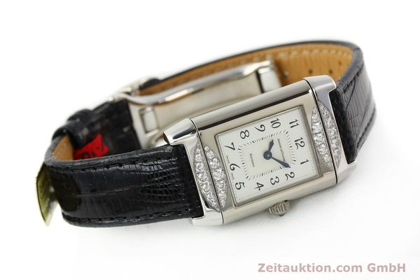 Used luxury watch Jaeger Le Coultre Reverso 18 ct white gold manual winding Kal. 488  | 142048 03