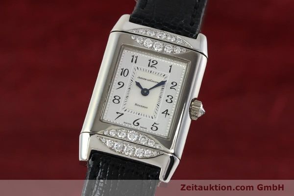 Used luxury watch Jaeger Le Coultre Reverso 18 ct white gold manual winding Kal. 488  | 142048 04