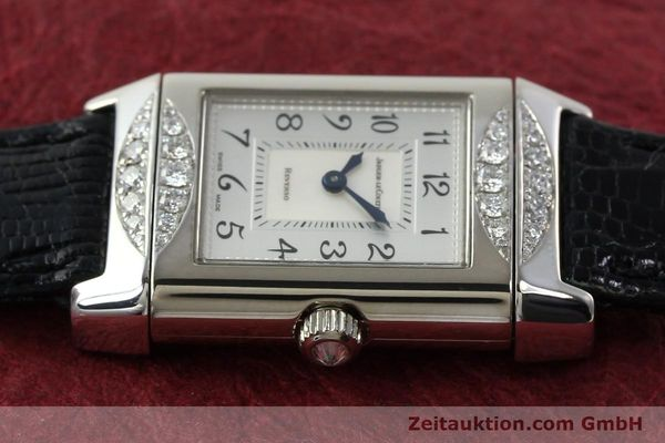 Used luxury watch Jaeger Le Coultre Reverso 18 ct white gold manual winding Kal. 488  | 142048 05
