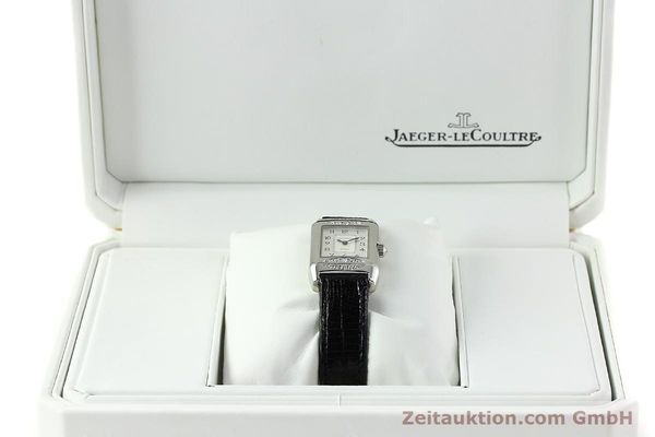 Used luxury watch Jaeger Le Coultre Reverso 18 ct white gold manual winding Kal. 488  | 142048 07