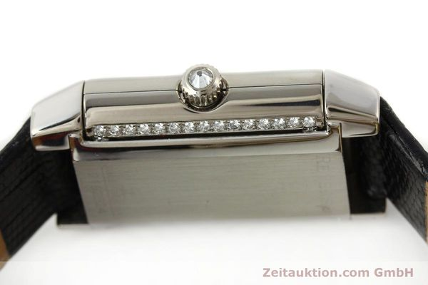 Used luxury watch Jaeger Le Coultre Reverso 18 ct white gold manual winding Kal. 488  | 142048 08