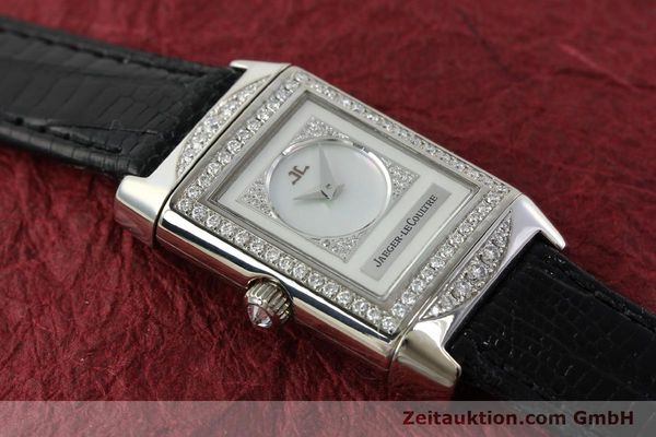 Used luxury watch Jaeger Le Coultre Reverso 18 ct white gold manual winding Kal. 488  | 142048 14
