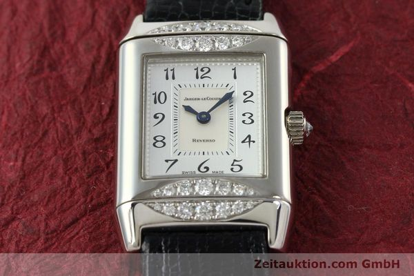 Used luxury watch Jaeger Le Coultre Reverso 18 ct white gold manual winding Kal. 488  | 142048 15