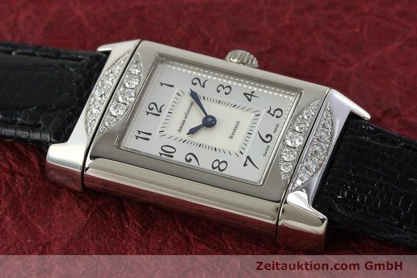 Used luxury watch Jaeger Le Coultre Reverso 18 ct white gold manual winding Kal. 488  | 142048 16