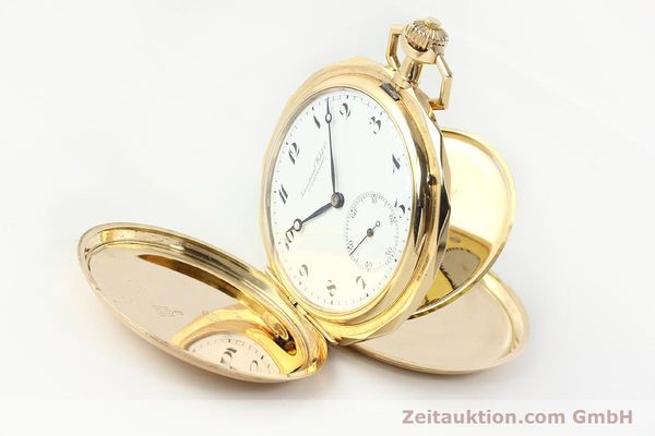 Used luxury watch IWC Taschenuhr 14 ct yellow gold manual winding Kal. 55231  | 142049 03