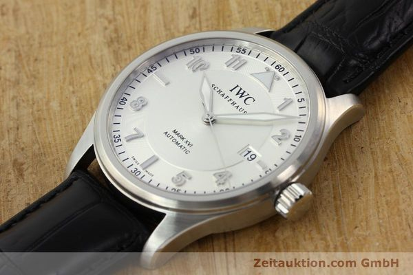 Used luxury watch IWC Mark XVI steel automatic Kal. 30110 Ref. 3255  | 142050 01