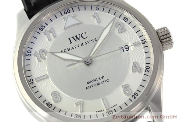 Used luxury watch IWC Mark XVI steel automatic Kal. 30110 Ref. 3255  | 142050 02