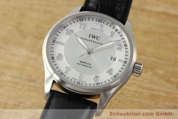 Used luxury watch IWC Mark XVI steel automatic Kal. 30110 Ref. 3255  | 142050 04