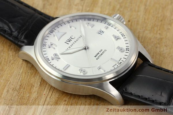 Used luxury watch IWC Mark XVI steel automatic Kal. 30110 Ref. 3255  | 142050 17