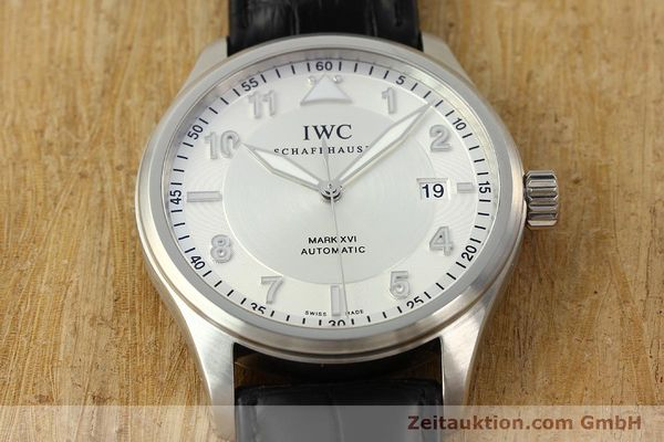 Used luxury watch IWC Mark XVI steel automatic Kal. 30110 Ref. 3255  | 142050 18