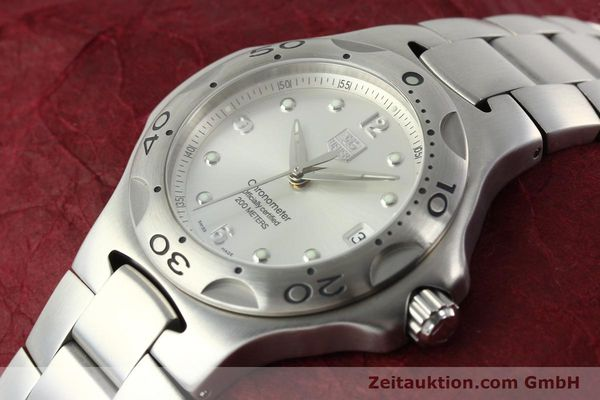 Used luxury watch Tag Heuer Kirium steel automatic Kal. ETA 2892-2 Ref. WL5110-0  | 142051 01