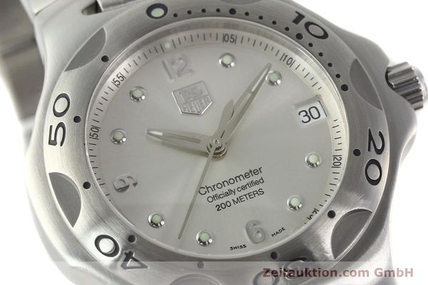 Used luxury watch Tag Heuer Kirium steel automatic Kal. ETA 2892-2 Ref. WL5110-0  | 142051 02