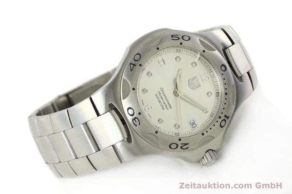 Used luxury watch Tag Heuer Kirium steel automatic Kal. ETA 2892-2 Ref. WL5110-0  | 142051 03
