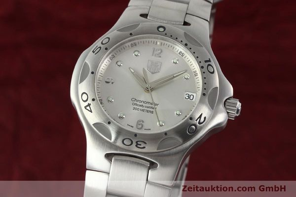 Used luxury watch Tag Heuer Kirium steel automatic Kal. ETA 2892-2 Ref. WL5110-0  | 142051 04