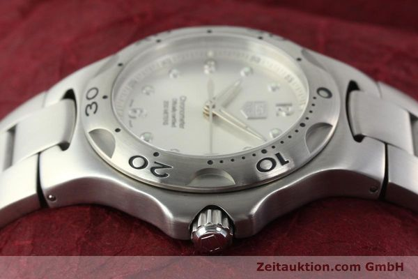 Used luxury watch Tag Heuer Kirium steel automatic Kal. ETA 2892-2 Ref. WL5110-0  | 142051 05