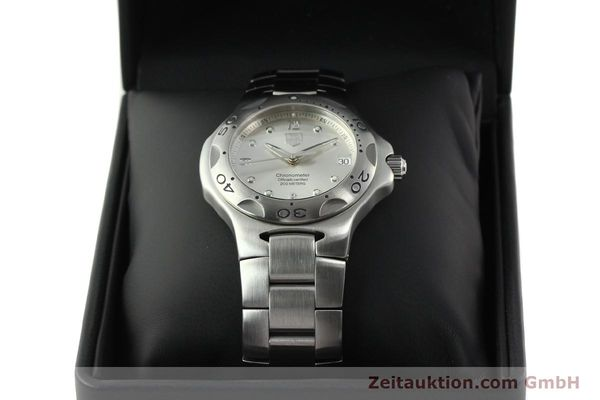 Used luxury watch Tag Heuer Kirium steel automatic Kal. ETA 2892-2 Ref. WL5110-0  | 142051 07