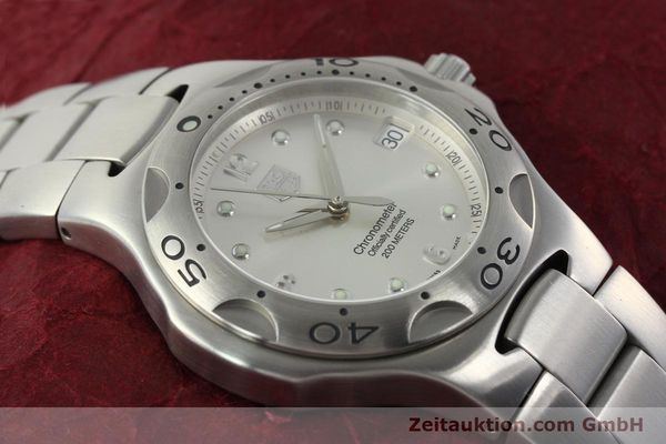 Used luxury watch Tag Heuer Kirium steel automatic Kal. ETA 2892-2 Ref. WL5110-0  | 142051 14