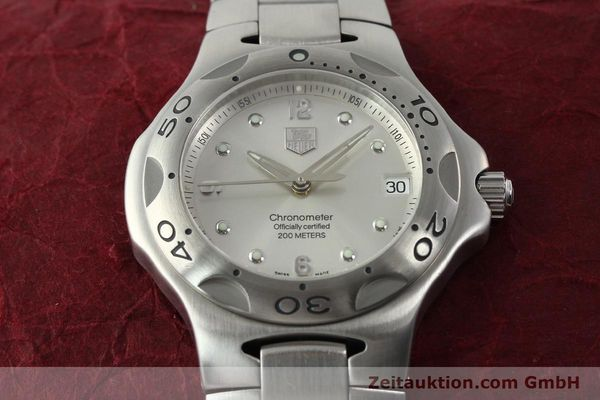 Used luxury watch Tag Heuer Kirium steel automatic Kal. ETA 2892-2 Ref. WL5110-0  | 142051 15