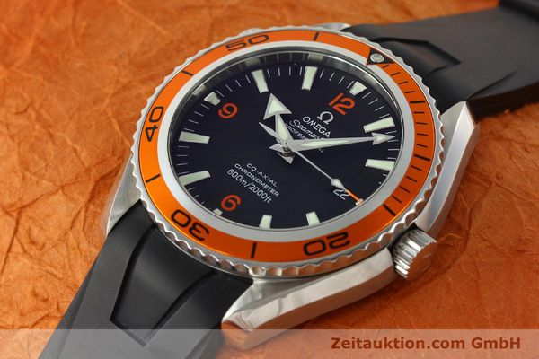 Used luxury watch Omega Seamaster steel automatic Kal. 2500 Ref. 29085091  | 142053 01
